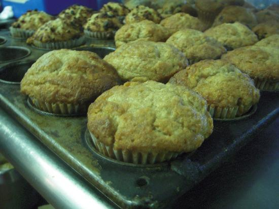 Rick's All Seasons Restaurant: an army of muffins