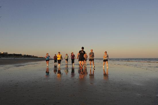 Hilton Head Health: Beach Walk