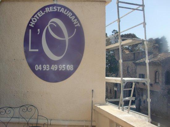Hotel Restaurant L'O: l'echafaudage