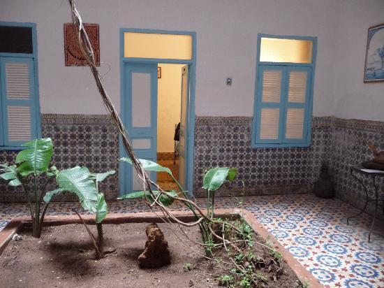 Chez Brahim : le patio
