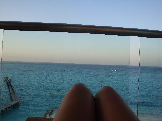 Grand Fiesta Americana Coral Beach Cancun: View from our balcony from room #704