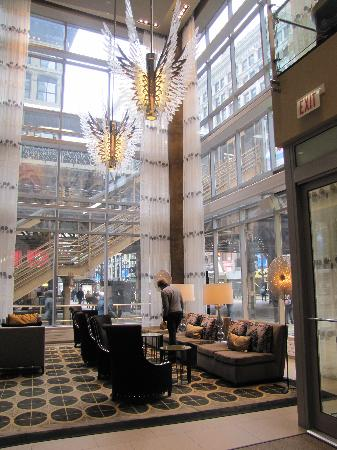 all hotels in chicago hotel lobby picture of thewit a doubletree by hilton