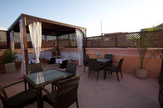 Terrasse ombragée - Picture of Riad Mazaya, Marrakech - TripAdvisor