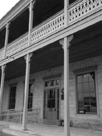 Fredericksburg, TX: The Good Art Co. Historical building