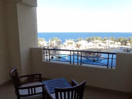 Stella Di Mare Beach Hotel & Spa : Вид из номера