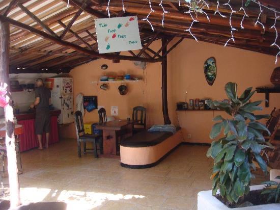 Pura Vida Hostel: outdoor kitchen