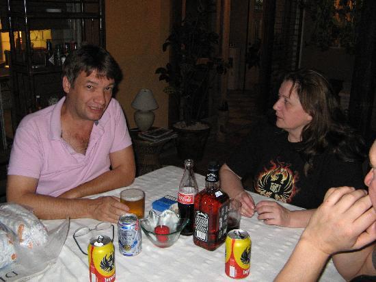Hotel Casa Alegre / Posada Nena: Abends in der Posada Nena