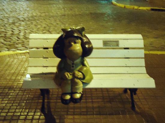 Estatua De Mafalda San Telmo Buenos Aires Picture Of Mafalda