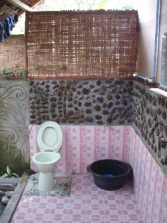 Mega Inn - Tangkahan : Outdoor bathroom