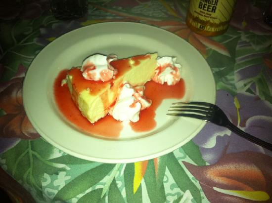 MYETT'S: Strawberry cheesecake - what you see is what you get