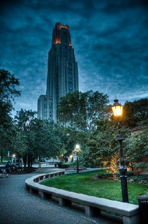 Pittsburgh, PA: cathedral of learning