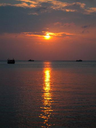 Goodtime Adventures, Koh Tao: Sunset.. ooooo.