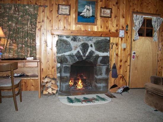 Gold Beach, OR: cozy fire