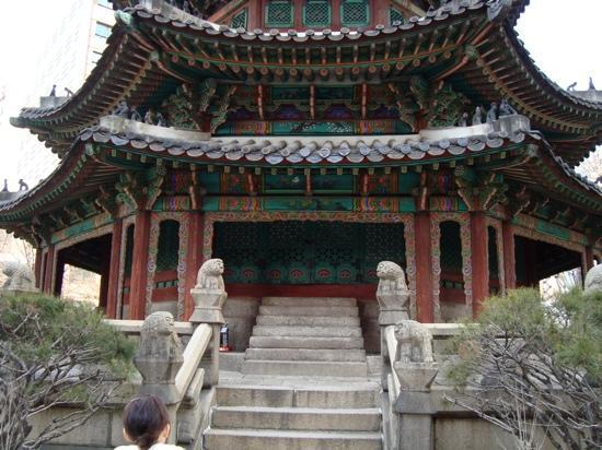 Seul, Corea del Sud: a palace outside the Weston
