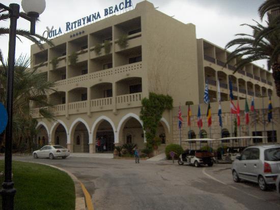Aquila Rithymna Beach Hotel: hotel
