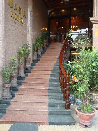 Asia Hotel Hanoi: Entrée