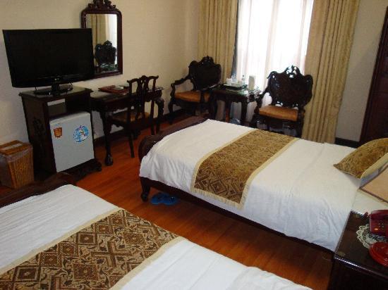 Asia Hotel Hanoi: Chambre (7ème étage)