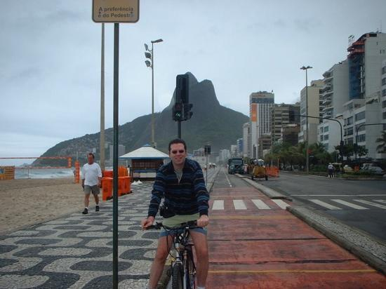 Kev on Ipanema Beach