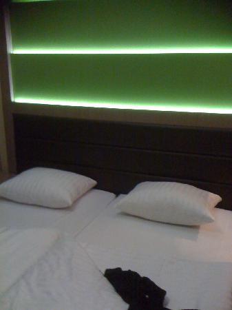Novum Style Hotel Hamburg-Centrum: Betten