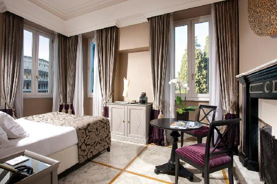 Palazzo Manfredi - Relais & Chateaux: Deluxe room