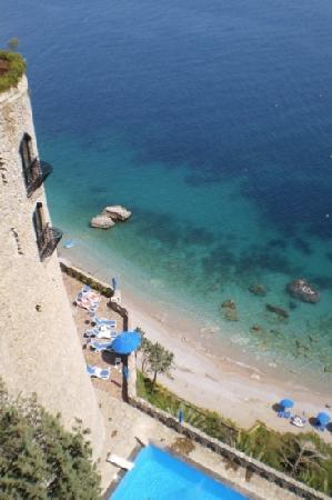 Il Saraceno Grand Hotel: beach