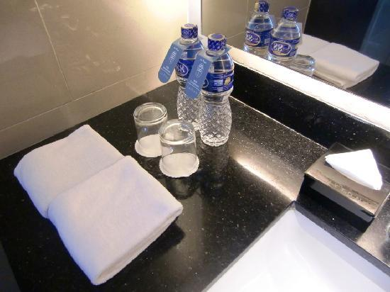 The Luxton Bandung: Complimentary bottled water