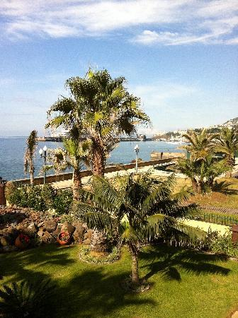 Porto Santa Maria Hotel: View from balcony across to the harbour
