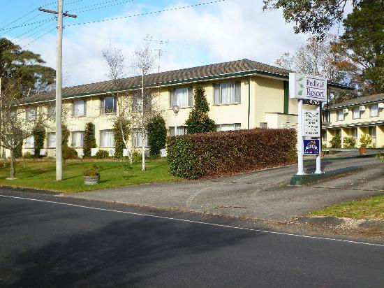 Comfort Inn Redleaf Resort: Driveway entrance