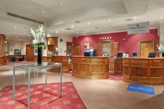 Hilton Coventry Hotel: Lobby