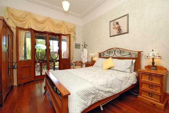 Above Bored Bed and Breakfast: Master Bedroom
