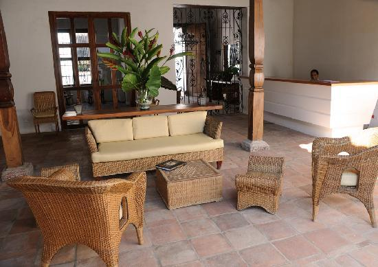 Bioma Boutique Hotel Mompox: Reception Area