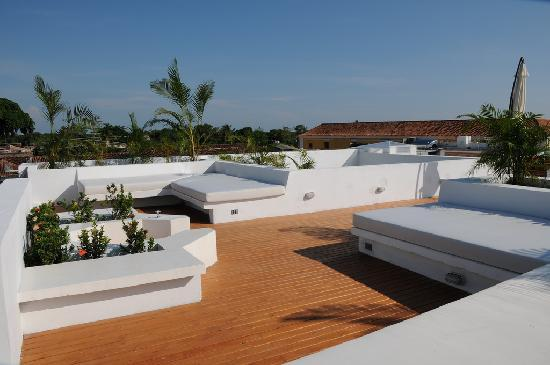 Bioma Boutique Hotel Mompox: Terrace