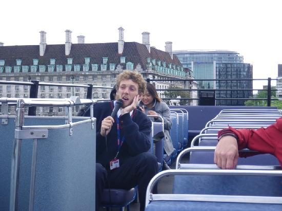 The Original London Sightseeing Tour: commentaires du guide