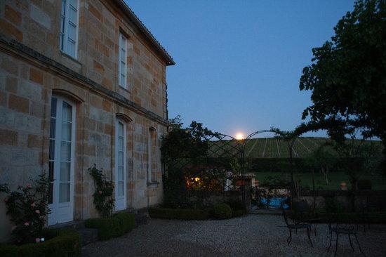 Langoiran, France: Sunset