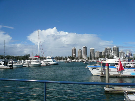 Marina Mirage : 向かい側はサウスポート