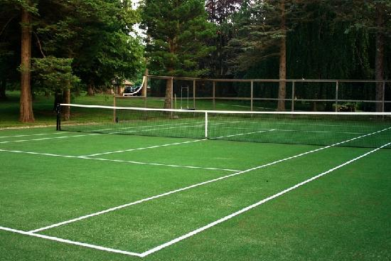 Rock Hall Luxe Lodging: Rock Hall Tennis Court
