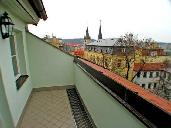 Residence Jecna: Terrace