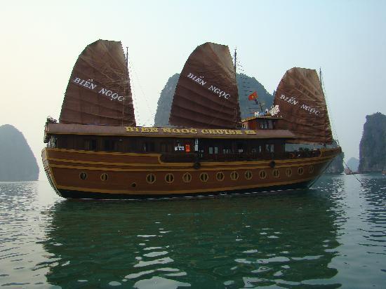 """Jonque An Nam : l' """"hôtel"""" flottant"""