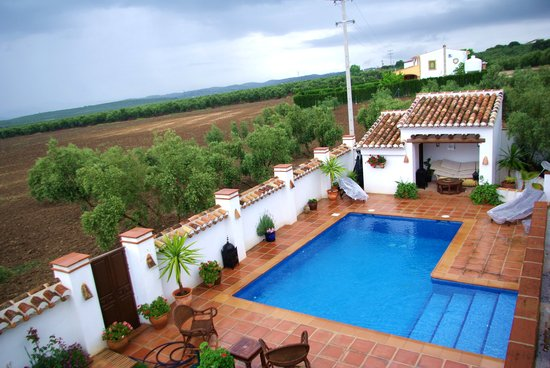 Cortijo Piedra: Swimmingpool