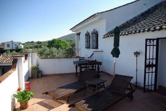 Villanueva del Trabuco, Hiszpania: Terrace