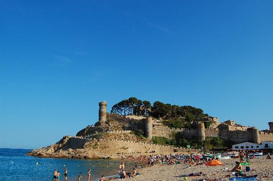 Tossa de Mar, Spain: Beach - playa - spiaggia