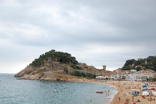 Tossa de Mar, Spain: Panorama
