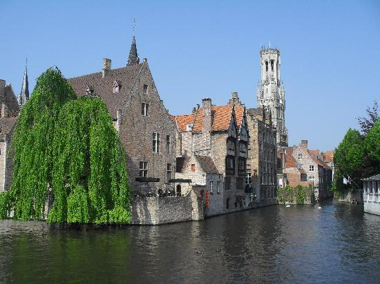 Hobo Bed and Breakfast: Bruges in the sunshine