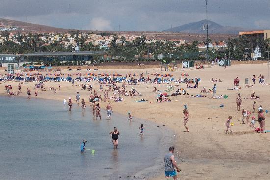 Caleta de Fuste, Spanien: caleta beach