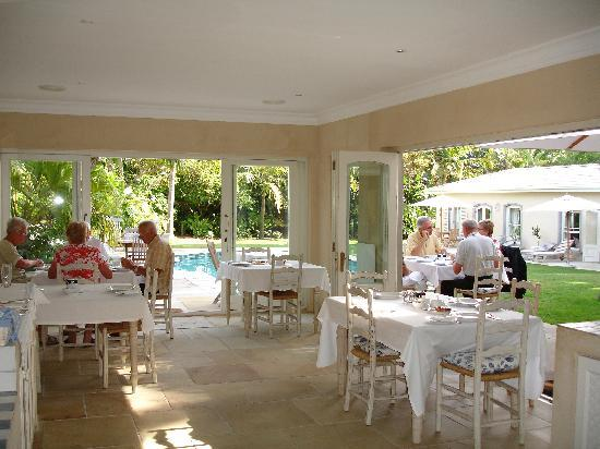 Constantia Valley Lodge: Breakfast room