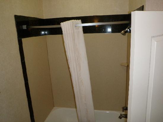 Rodeway Inn & Suites: Shower