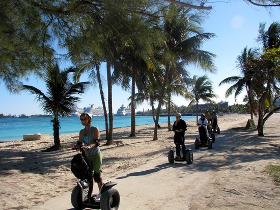 Nassau Segway Beach and Waterfront Tour