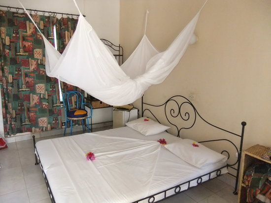 Fajara, Gambia: My room