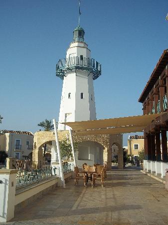 Aliathon Holiday Village: lighthouse snack bar