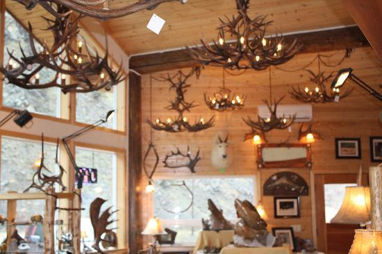 Unique Antler Design Wildlife Gallery: Antler Chandeliers!